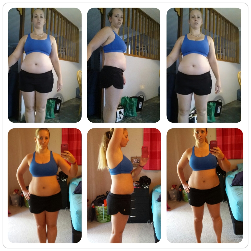BBG Weeks 1-4 Progress Before and After