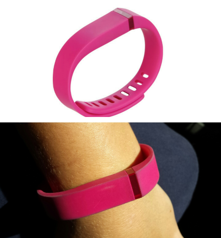 Fitbit discolouration